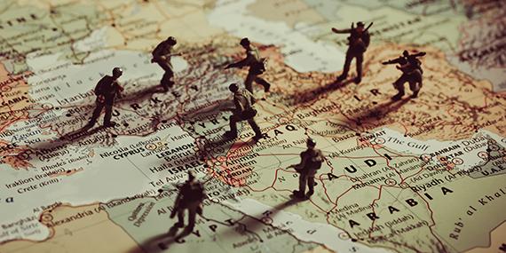 Imagen de La agitación en Medio Oriente