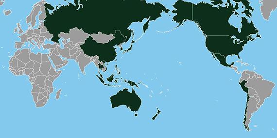 Imagen de Asia Pacífico desembarca en Chile