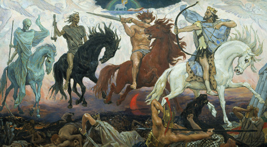 Imagen de Los cuatro jinetes del apocalipsis moderno