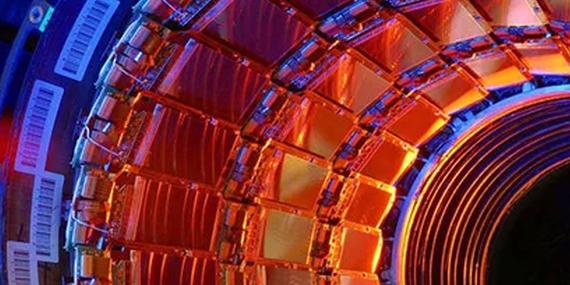 Imagen de El microscopio más grande del mundo y el comienzo del universo