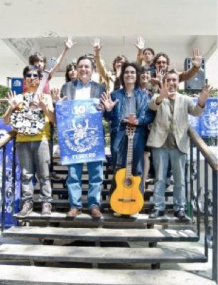 Patricio González y los 10 años del Rockódromo