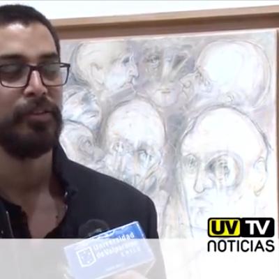 Grabados de Roberto Acosta se exhiben en sala El Farol